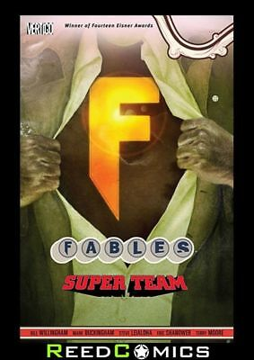 FABLES VOLUME 16 SUPER TEAM GRAPHIC NOVEL New Paperback Collects Issues #101-107
