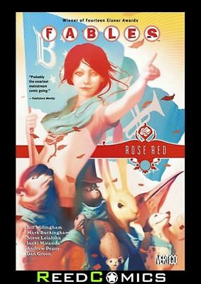 FABLES VOLUME 15 ROSE RED GRAPHIC NOVEL New Paperback Collects Issues #94-100