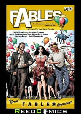 FABLES VOLUME 13 THE GREAT FABLES CROSSOVER GRAPHIC NOVEL New Paperback #83-85