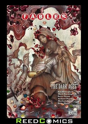 FABLES VOLUME 12 THE DARK AGES GRAPHIC NOVEL New Paperback Collect Issues 76-82