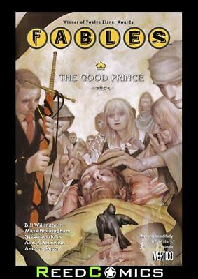 FABLES VOLUME 10 THE GOOD PRINCE GRAPHIC NOVEL New Paperback Collects #60-69