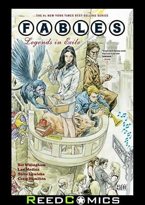FABLES VOLUME 1 LEGENDS IN EXILE GRAPHIC NOVEL New Paperback Collect Issues #1-5