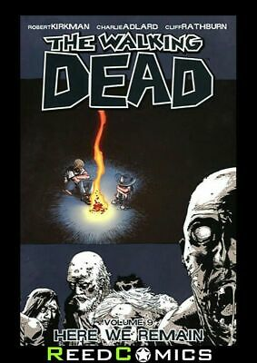 WALKING DEAD VOLUME 9 HERE WE REMAIN GRAPHIC NOVEL New Paperback Collects #49-54