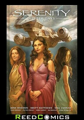SERENITY VOLUME 2 BETTER DAYS AND OTHER STORIES HARDCOVER New Hardback #1-3