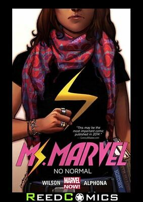 MS MARVEL VOLUME 1 NO NORMAL GRAPHIC NOVEL New Paperback Collects Issues #1-5