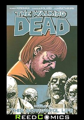 THE WALKING DEAD VOLUME 6 GRAPHIC NOVEL New Paperback Collects Issues #31-36