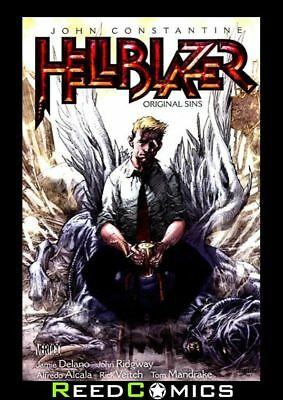 HELLBLAZER VOLUME 1 ORIGINAL SINS GRAPHIC NOVEL Collects #1-9, Swamp Thing 76-77