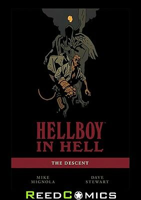 HELLBOY IN HELL VOLUME 1 DESCENT GRAPHIC NOVEL New Paperback Collect Issues #1-5