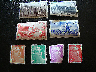 FRANCE - timbre yvert et tellier n° 780 a 783 808 809 811 813 n** (A15) french