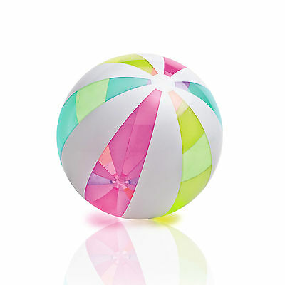 Intex Giant Classic Glossy and Colorful Inflatable Panel Beach Ball | 59066EP
