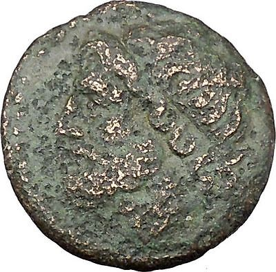 Syracuse Sicily 270BC King Hieron II  Ancient Greek Coin Poseidon Trident i45649
