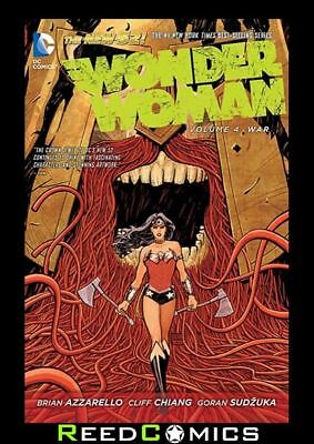 WONDER WOMAN VOLUME 4 WAR GRAPHIC NOVEL New Paperback Collects Issues #19-23
