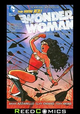 WONDER WOMAN VOLUME 1 BLOOD GRAPHIC NOVEL New Paperback Collects Issues #1-6