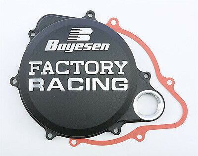 BOYESEN FACTORY RACING CLUTCH COVER (BLACK) CC-07AB Fits: Honda CRF250R 59-7213B