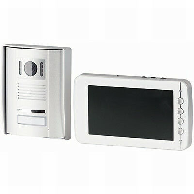 "Techview 7"" LCD Video Doorphone with IP55 IR Camera"