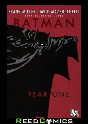 BATMAN YEAR ONE DELUXE GRAPHIC NOVEL New Paperback Frank Miller, D. Mazucchelli