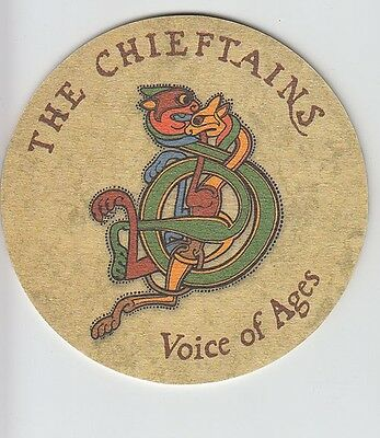 The Chieftains Voice Of Ages RARE promo set of 4 coasters