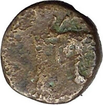 MYTILENE Lesbos Island GREEK City 440BC Apollo Bull Ancient Greek Coin i45675