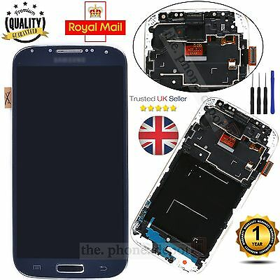 For Samsung Galaxy S4 i9505 LCD Display Digitizer & Touch Screen & Frame Black