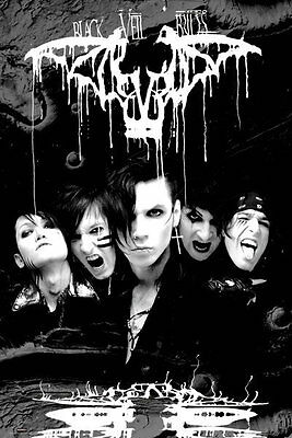 BLACK VEIL BRIDES HOLLYWOOD POSTER (61x91cm)  PICTURE PRINT NEW ART