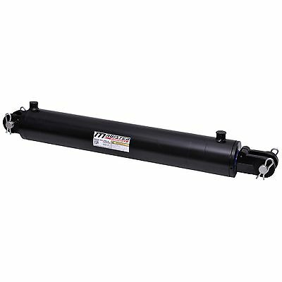"""Hydraulic Cylinder Welded Double Acting 3.5"""" Bore 16"""" Stroke Clevis 3.5x16 NEW"""