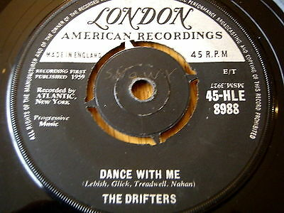 "The Drifters - Dance With Me  7"" Vinyl"