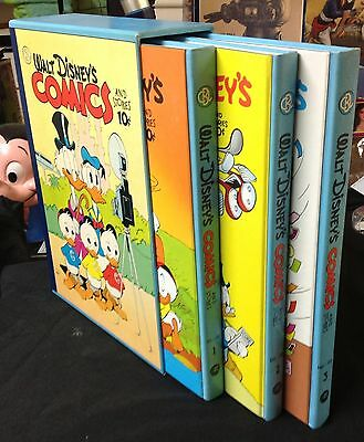 "Walt Disney Carl Barks Library ""Comics and Stories"" Vol. 8 new in slipcase 3 h/c"