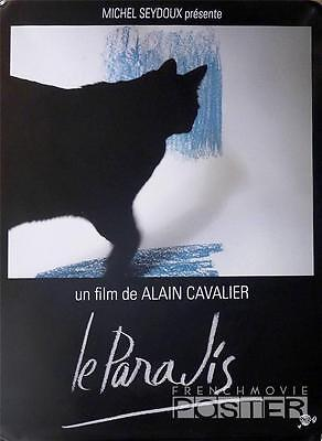 Le Paradis - Alain Cavalier / Cat - Original Large French Movie Poster