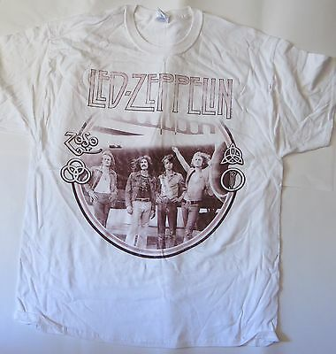 Led Zeppelin-Airplane -XL-T-Shirt-Brand New