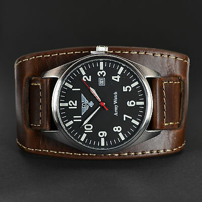 Army Watch Air-Craft Top-Design Herrenuhr Fliegeruhr Neu Ovp