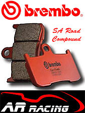 Brembo SA Sintered Road Front Brake Pads To Fit Ducati 996 Monster S4R 2002-2003