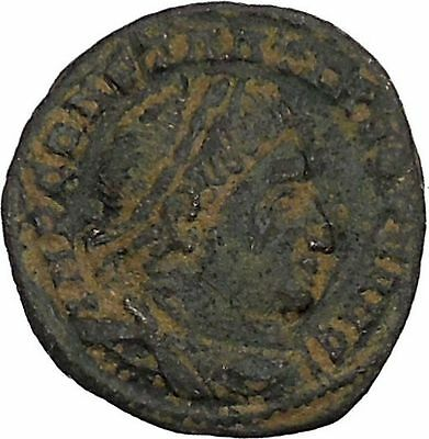 CONSTANTINE I the GREAT 313AD Ticinum Ancient Roman Coin Sol Sun God Cult i45962