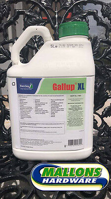 Gallup XL Very Strong Professional  Weedkiller Glyphosate 5L *NEW*