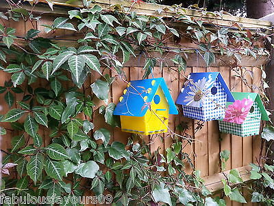 Tweet Tweet Plastic Bird Recycle Bird House, DIY Hanging Garden Bird House