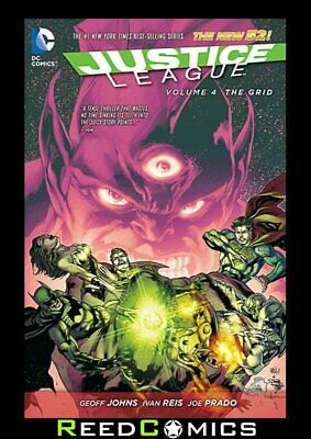 JUSTICE LEAGUE VOLUME 4 THE GRID GRAPHIC NOVEL New Paperback #18-20, 22-23