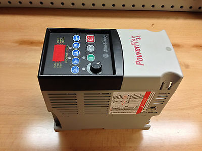 Refurbished Allen Bradley PowerFlex4, CAT: 22A-D2P3N104, 1HP