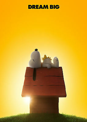 Peanuts (2015) - A1/A2 POSTER **BUY ANY 2 AND GET 1 FREE OFFER**