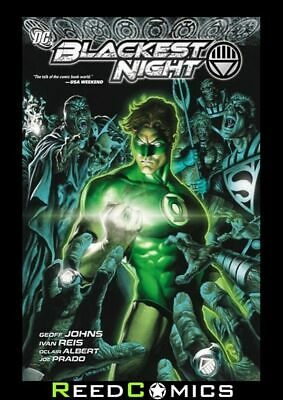 BLACKEST NIGHT GRAPHIC NOVEL New Paperback Collects Issues #0-8 by Geoff Johns