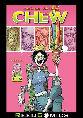 CHEW VOLUME 6 SPACE CAKES GRAPHIC NOVEL New Paperback Collects Issues #26-30