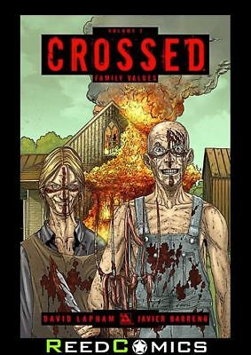CROSSED VOLUME 2 FAMILY VALUES GRAPHIC NOVEL New Paperback Collects Issues #1-7