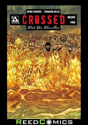 CROSSED WISH YOU WERE HERE VOLUME 4 GRAPHIC NOVEL New Paperback