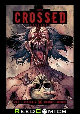 CROSSED VOLUME 9 GRAPHIC NOVEL New Paperback Collects Badlands #44-49 + Special