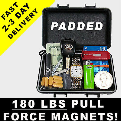 Magnetic Stash Box Hidden Safe Home Secret Case Diversion Car Security Hide 1601