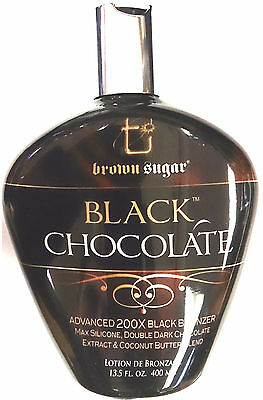 Black Chocolate 200X Black Bronzer Indoor Tanning Bed Lotion by Tan Inc.