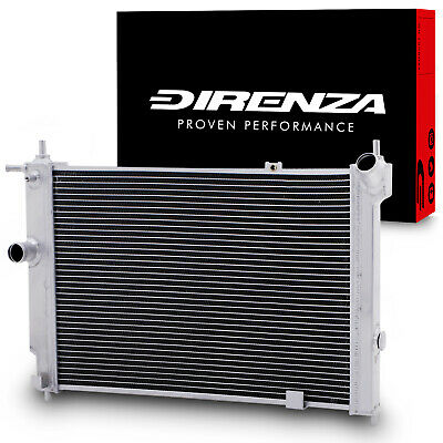 DIRENZA 40mm ALLOY RACE RADIATOR FOR VAUXHALL OPEL ASTRA MK3 F GSi 2.0 8V 16V