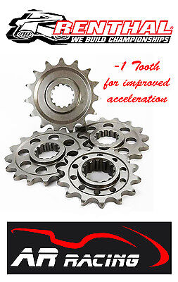 Renthal 16 T Front Sprocket 289-525-16 to fit Kawasaki ZX10R 2004-2016