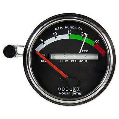 AR50404 New Tachometer w/Red Needle For John Deere Tractor 2510 2520 3020