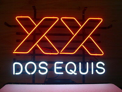 Dos Equis XX Bar Beer Pub Store New Neon Light Sign L04