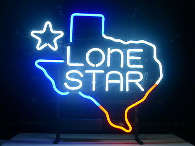 Texas Lone Star Bar Beer Pub Store Display Garage New Neon Light Sign L28