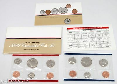 1986 US Mint UNCIRCULATED Coin Set 1986 D P  ( i5 )